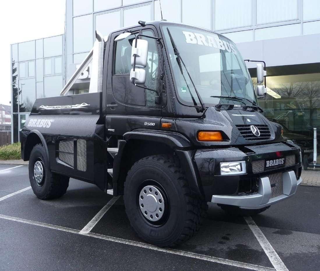 Unimog U500 Brabus Black Edition