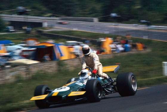 GP da Bélgica de 1970: o inglês Derek Reginald Bell e o escocês Jackie Stewart