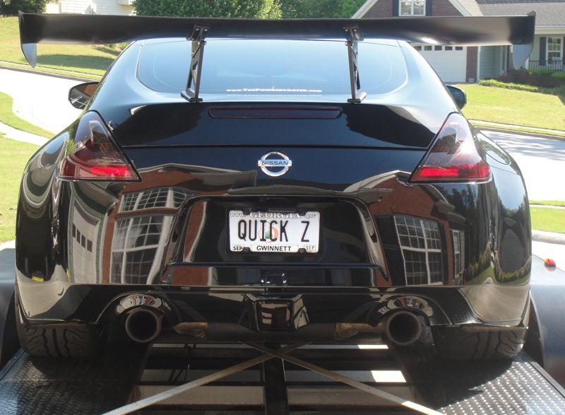 Post Pics Of Your Custom License Plates Nissan 370z Forum
