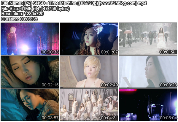 [PV] SNSD   Time Machine (HD 720p Youtube)