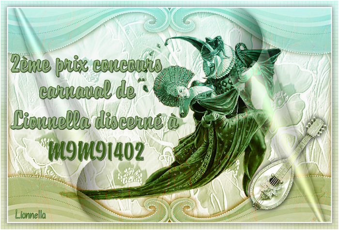 "PRIX Concours ""le carnaval"" 2emeprixexeco"