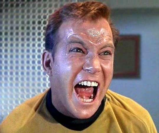 I'm Captain Kirk!