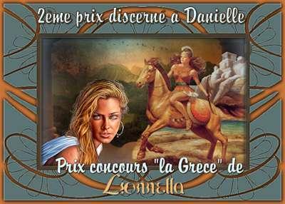"""PRIX Concours """"tour du monde """" LA GRECE 2emeprixdanielle"""