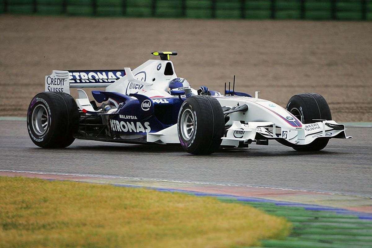 Уильямс на прощание подарил Массе болид с Гран-при Бразилии