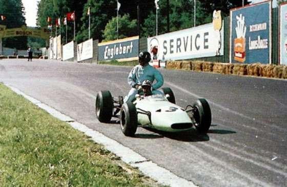 GP da Bélgica de 1964: os britânicos Innes Ireland e Norman Graham Hill