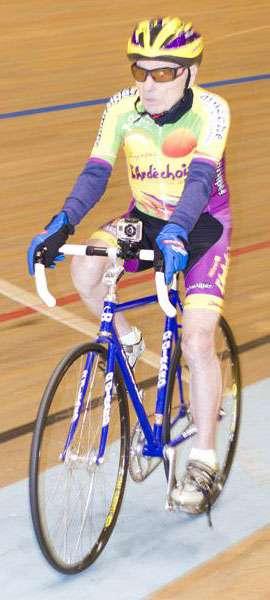 Robert Marchand em ação