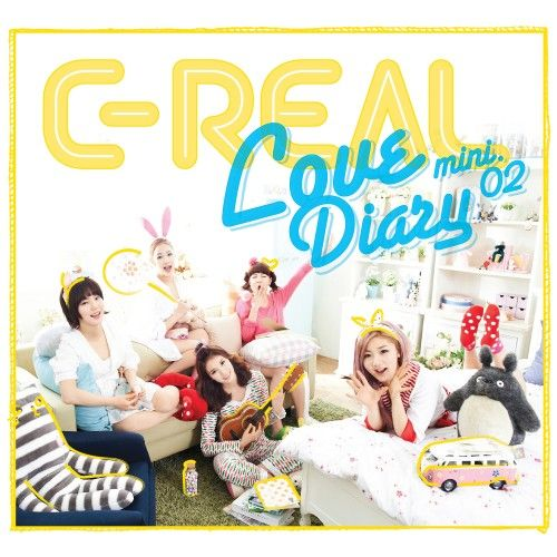 [Mini Album] C-Real - Love Diary