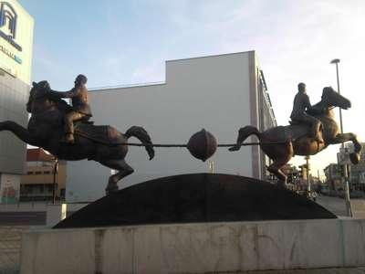 Monumento em Homenagem à Experiência dos Hemisférios de Magdeburgo