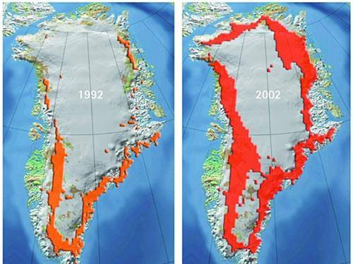 noticias Groenlandia podría desaparecer por calentamiento