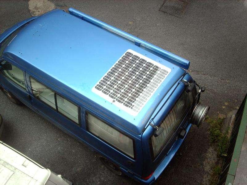 Rendimiento Vs Temperatura Placa Solar En Furgoneta Camper