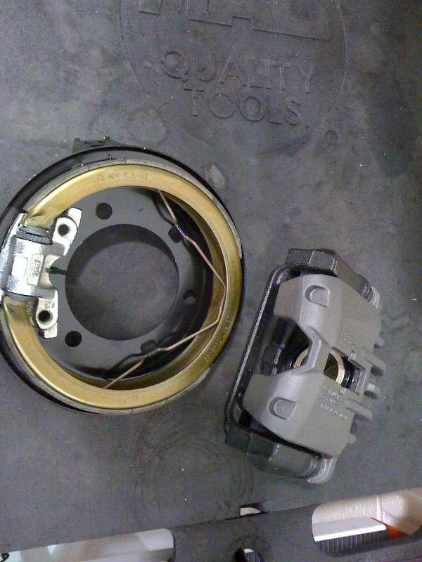 True C5 Rear Disc W Internal Parking Brake In The Works