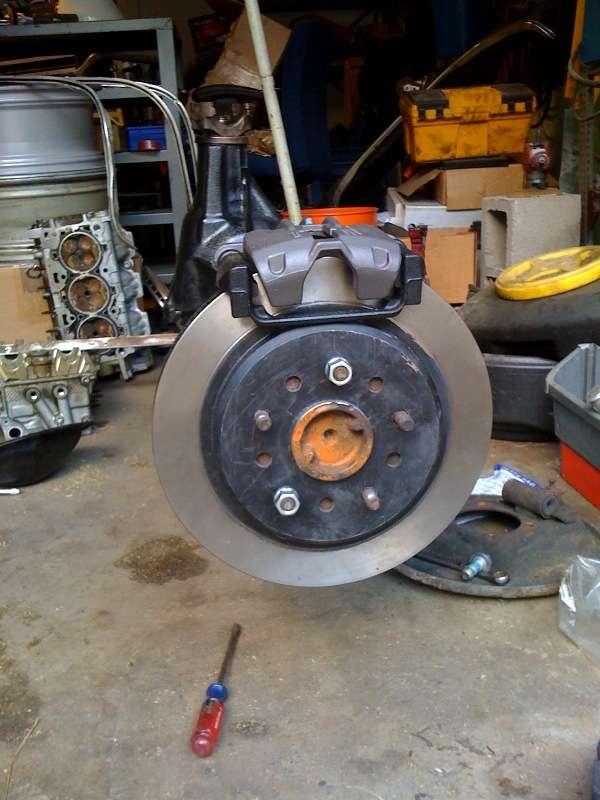 "Ford 8.8/"" Rear Brake Swap dual caliper C5//C6 Corvette Conversion"