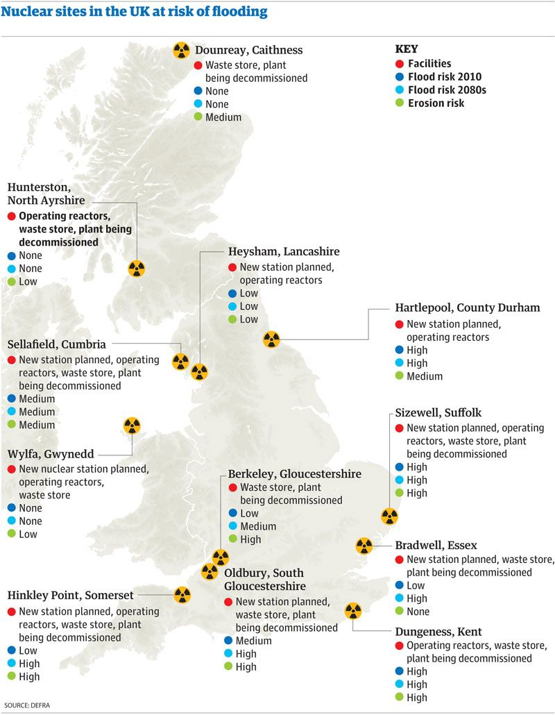 The Propaganda Continues VII – Map Uk Nuclear Power Stations