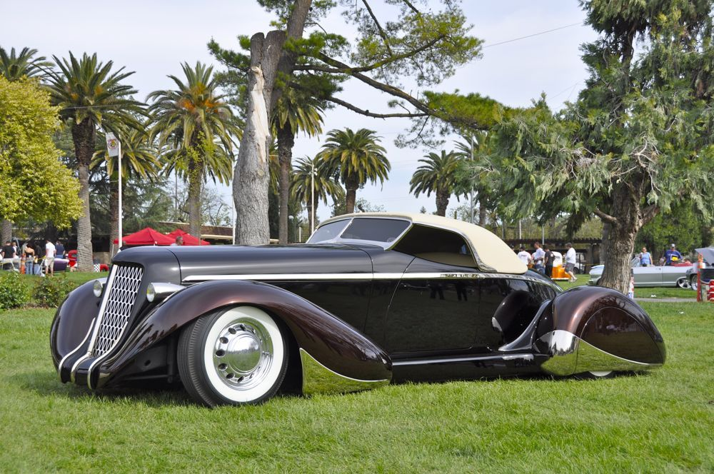 Auburn Speedster 1936 Quot Slow Burn Quot West Coast Custom Of