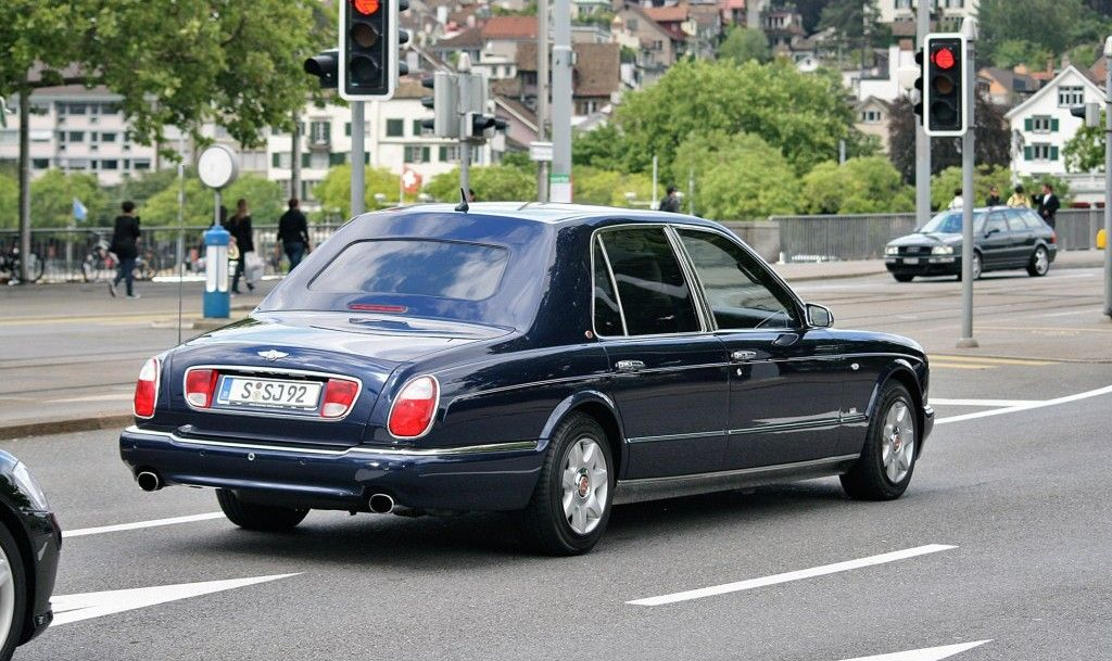 Bentley Arnage 450 Hr Limousine By Mulliner Only Cars