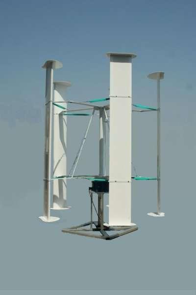 Quel profil pour pales d 39 oliennes axe vertical - Eolienne domestique verticale ...