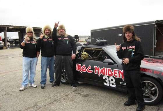 24 Hours Of LeMons Chevrolet Camaro IROC-Z Iron Maiden Iroc Maiden