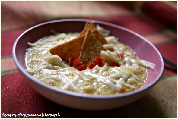 zupa kukurydziana z nachos