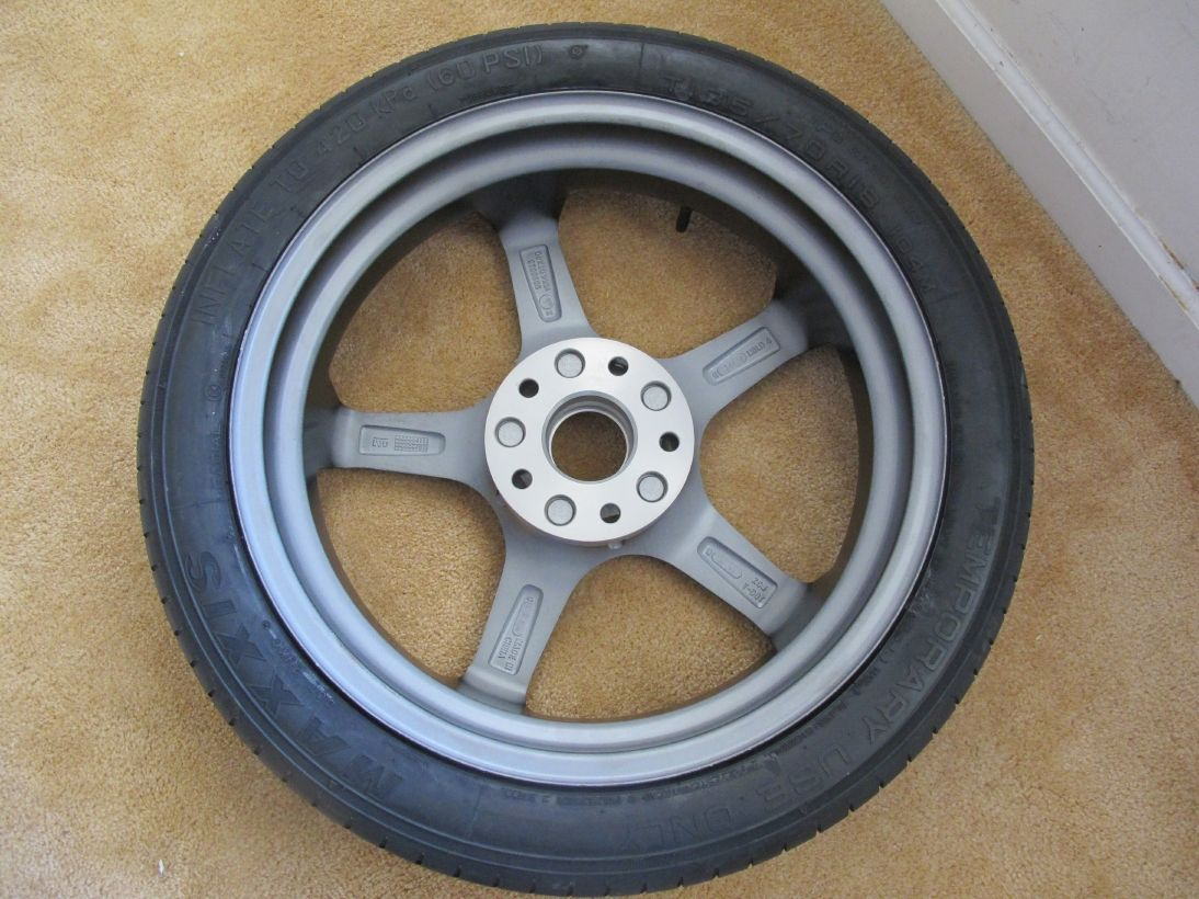 Full Spare Tire Kit For Anyone Interested In Seeing I