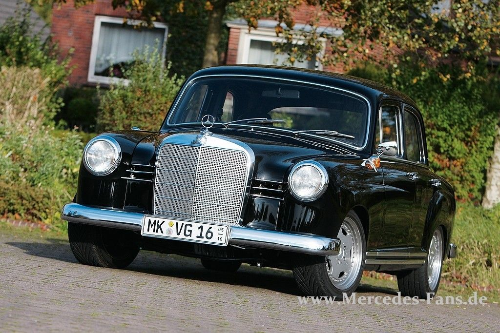 Mercedes-Benz W120 Power Ponton | Only cars and cars