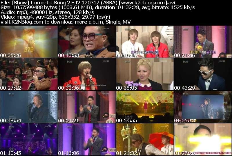 [Show] Immortal Song 2 E42 120317