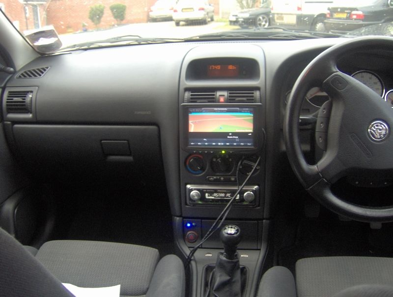 Dave S Astra G With Car Pc Aka Dave One
