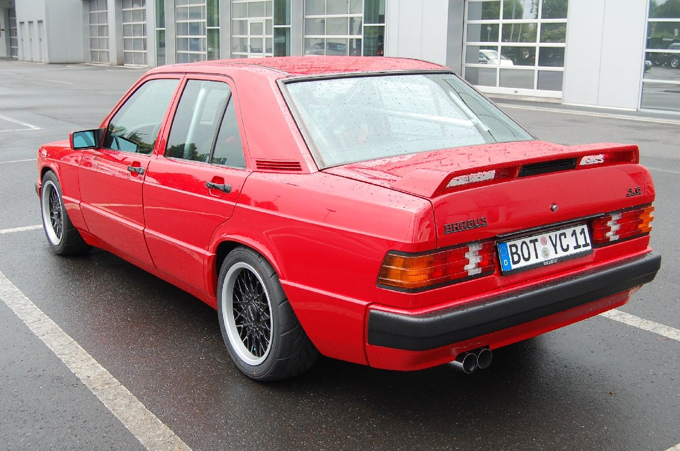 mercedes benz w201 190 e brabus 3 6 s only cars and cars. Black Bedroom Furniture Sets. Home Design Ideas