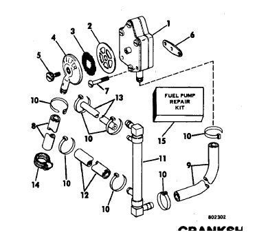Evinrude Fuel System Diagram