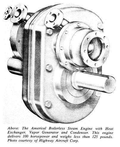 Steam Power For Tanks