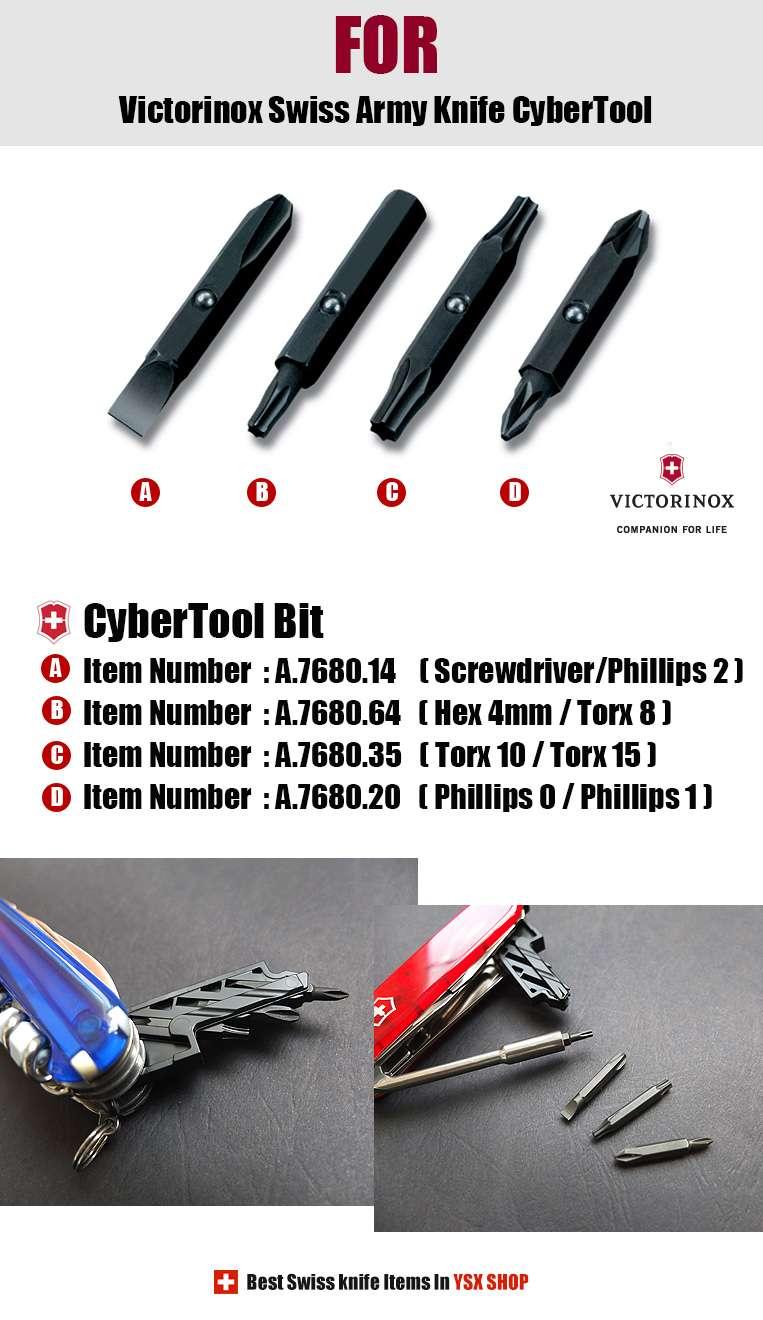 Victorinox Swiss Army Knife Accessories Cybertool Bit 4